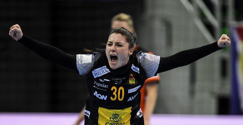 Sole López, debutante a un gran nivel en el Europeo