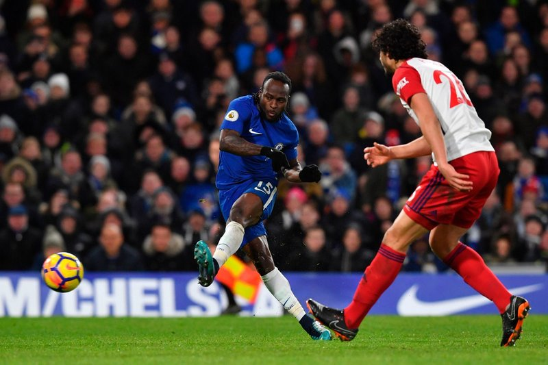 Victor Moses, autor del 2-0 FOTO: @ChelseaFC