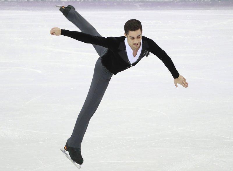 Javier Fernández se juega la medalla olímpica en PyeongChang (EFE)