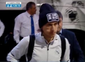Modric, de inicio en el banquillo ante el Real Betis