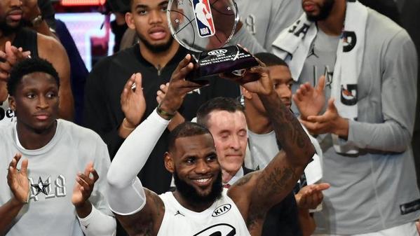 NBA All-Star Game  LeBron James wins MVP 6d4d59ddf