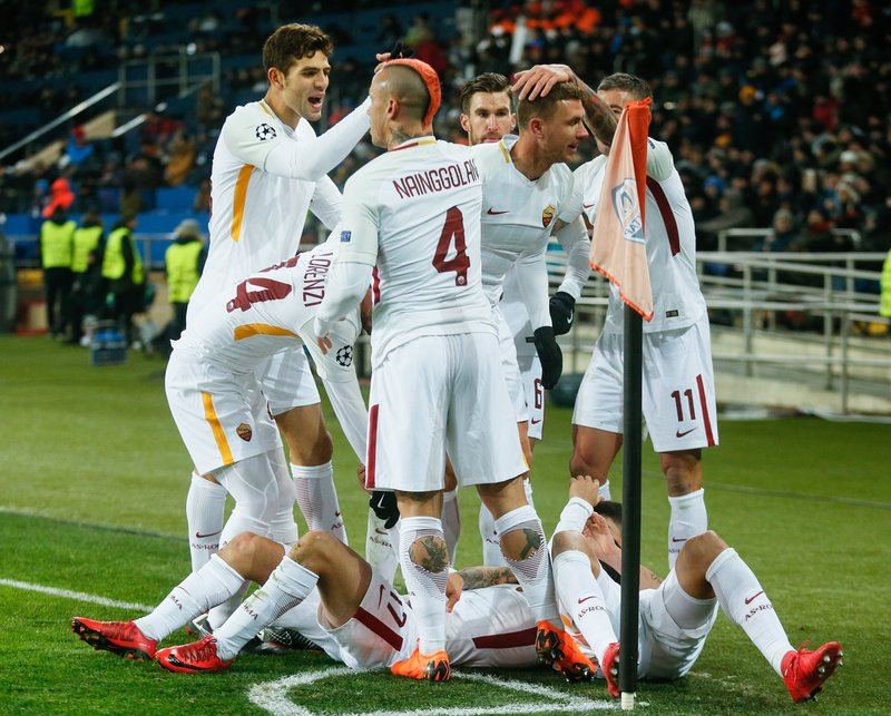 Poco les ha durado la alegría a los jugadores de la Roma (EFE)