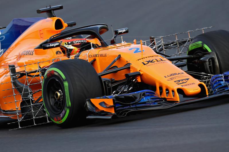 El McLaren de Stoffel Vandoorne, una de las sensaciones de los test de Fórmula 1 - FOTO: GETTY