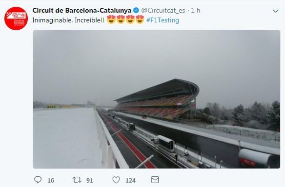 Así está ahora mismo el Circuit de Barcelona-Catalunya