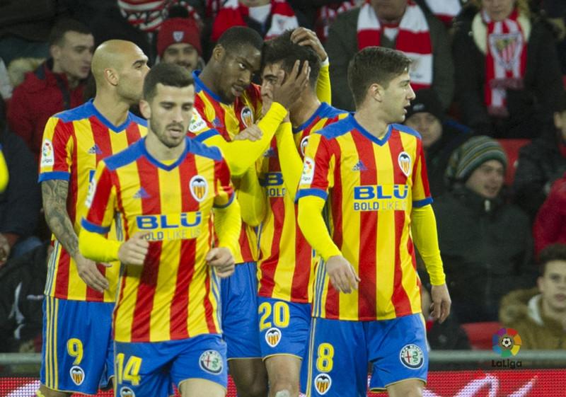 Kondogbia marcó la diferencia en el primer tiempo. | Valencia CF