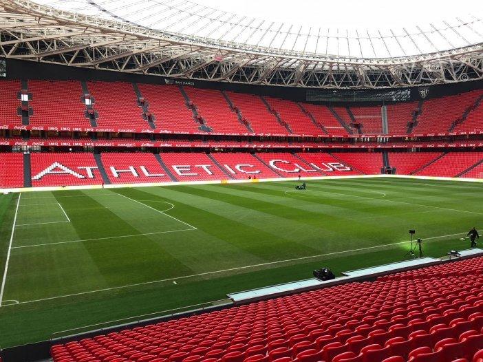 Así luce San Mamés a menos de una hora del encuentro. | AthleticClub