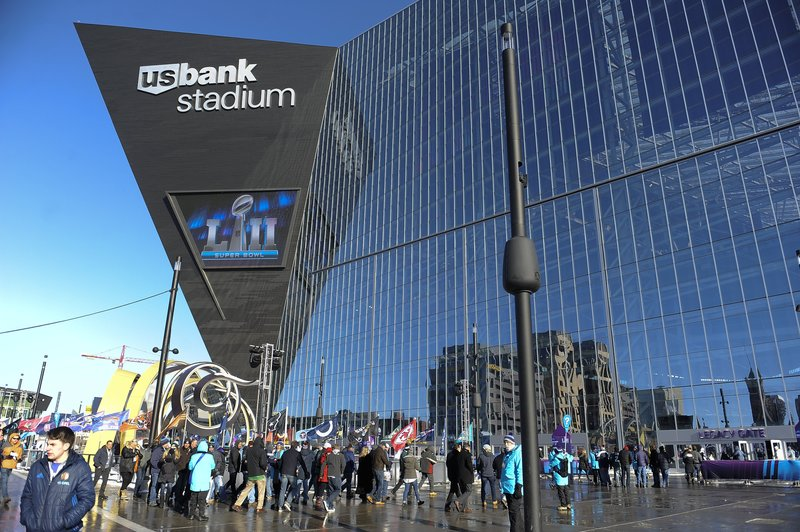 El US Bank Stadium, escenario de la Super Bowl 2018