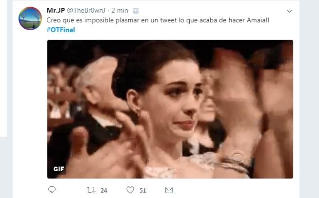 Twitter se vuelca con Amaia.