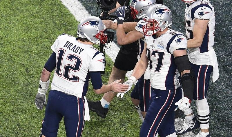 La conexión Brady-Gronkowski, letal en la segunda mitad (FOTO:EFE)