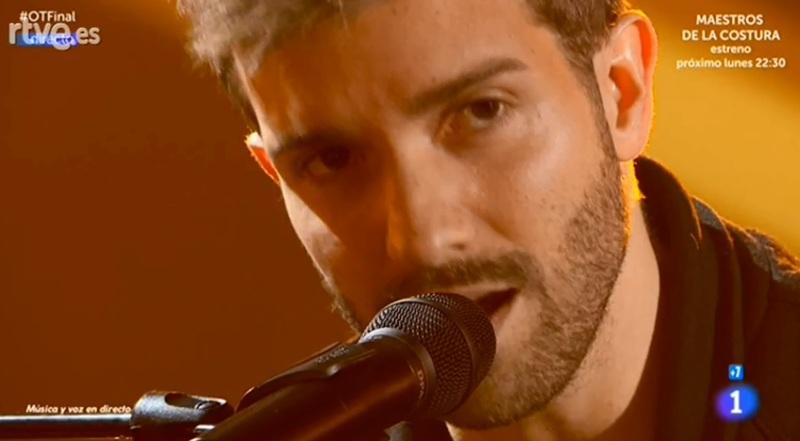 Pablo Alborán, en directo.
