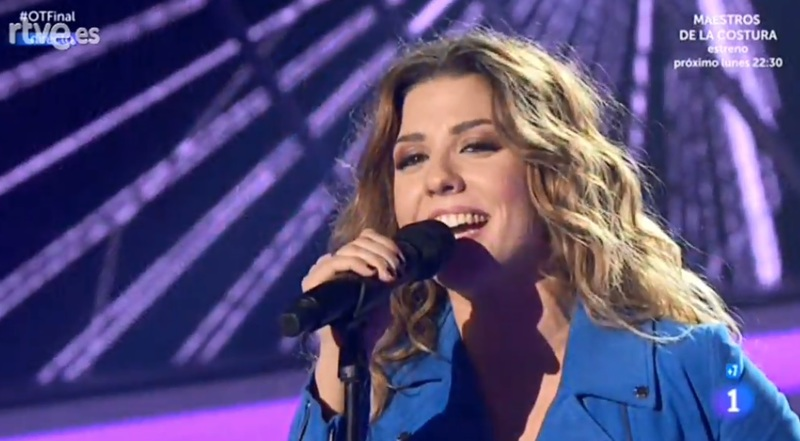 Miriam, con la última actuación.