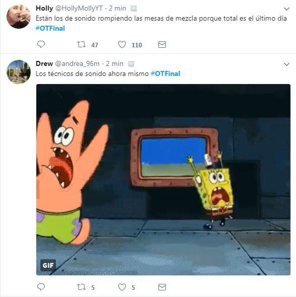 Cachondeo en Twitter con los problemas de sonido.