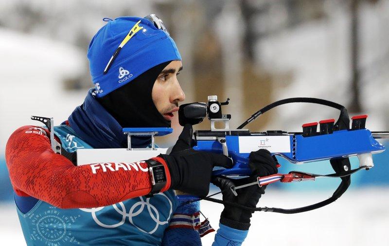 Martin Fourcade, abanderado de Francia y llamado a ser una de las grandes estrellas en los Juegos (EFE)