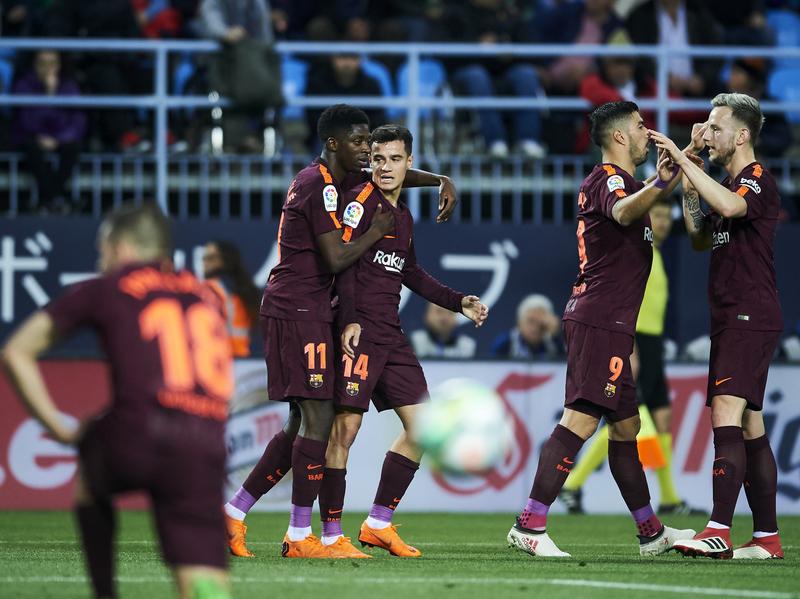 La celebración del Barça FOTO: GETTY