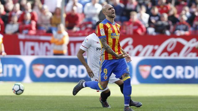 Zaza, el mayor peligro del Valencia    LFP