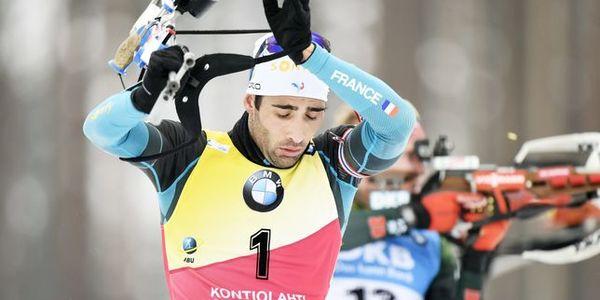 Biathlon en direct revenu de loin martin fourcade - Classement coupe du monde de biathlon ...