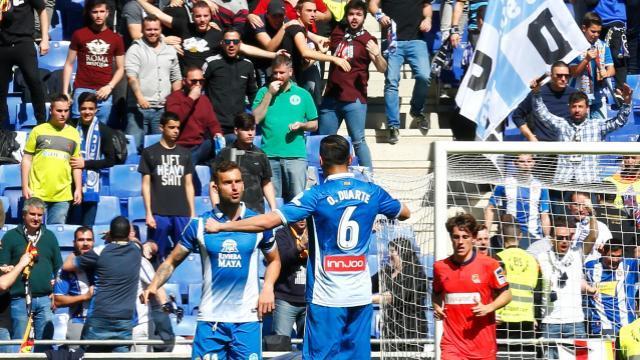 Baptistao celebra su tanto con Duarte || LFP