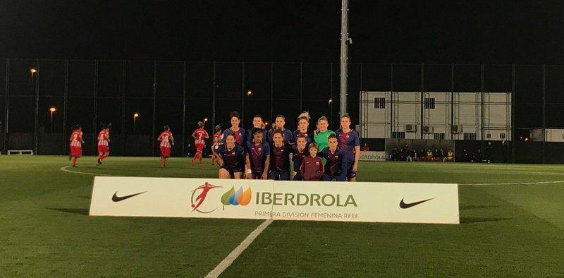 El once del Barça en la Ciutat Esportiva FOTO: FCB