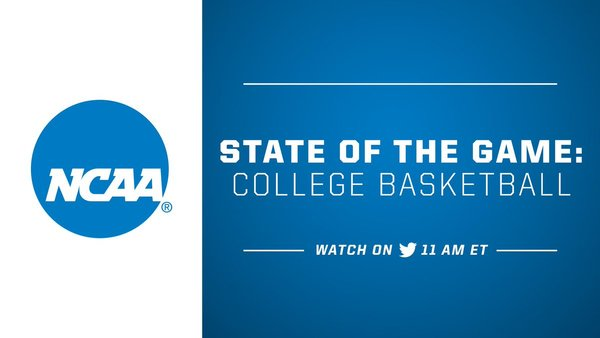 At 11AM ET Today Well Be Re Airing NCAA State Of The Game College Basketball Catch Roundtable Discussion With President Mark Emmert