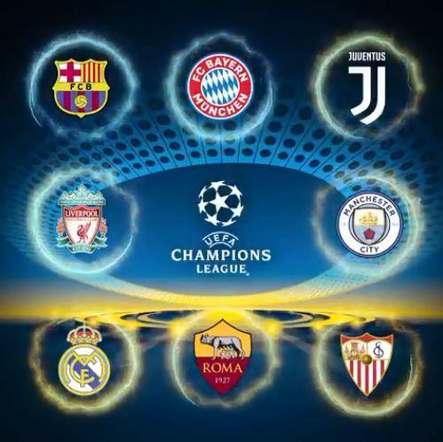 Los ocho equipos clasificados para cuartos del campeonato.