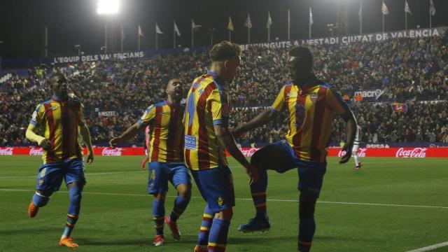 Boateng metió el gol de la victoria momentánea. LFP