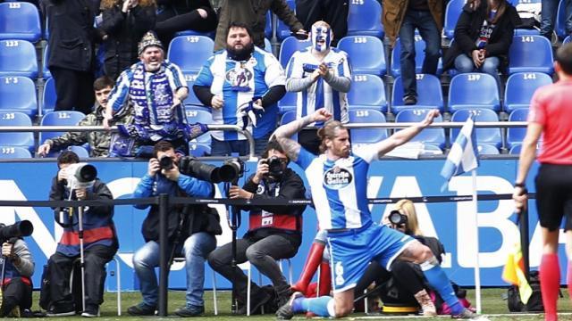 Albentosa le dio la vida al Deportivo    LFP