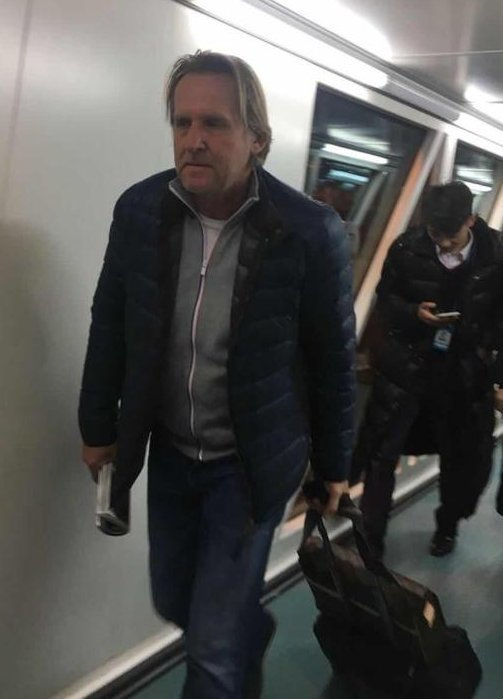 Schuster, a su llegada a China