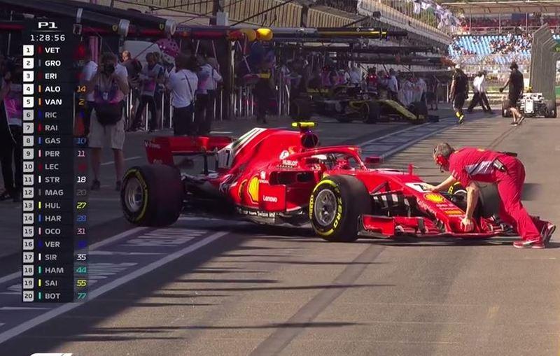 Raikkonen, en el GP de Australia de F1