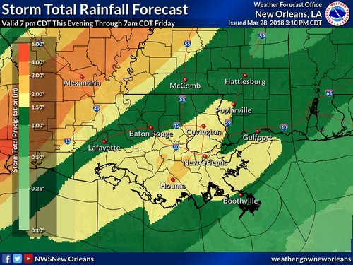 Live New Orleans-area weather updates | Page 2770