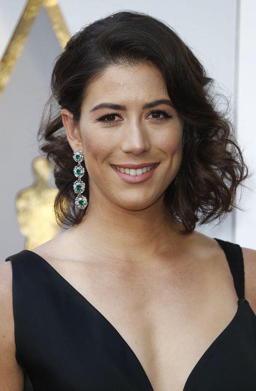 Garbiñe Muguruza, en la gala de los Oscars (GTRES)