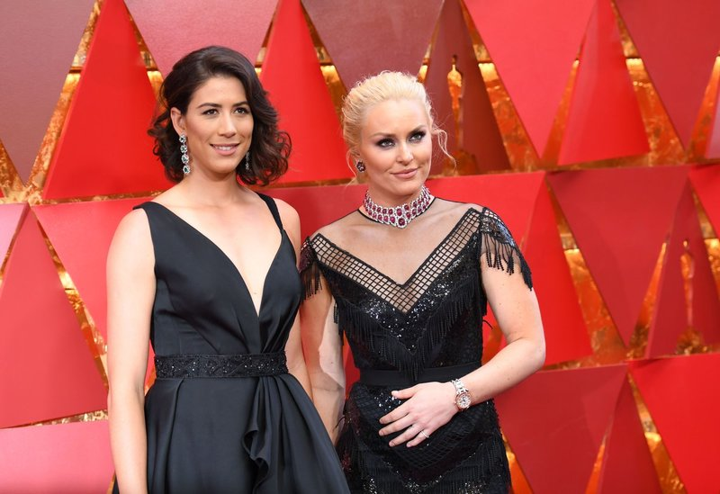 Garbiñe Muguruza y Lindsey Vonn, dos estrellas del deporte presentes en la gala de los Oscar (AusOpen)