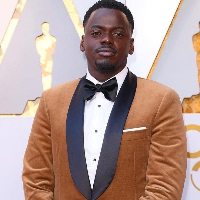 Daniel Kaluuya, nominado al Oscar a mejor actor, ya ha pasado por la alfombra roja (Twitter)