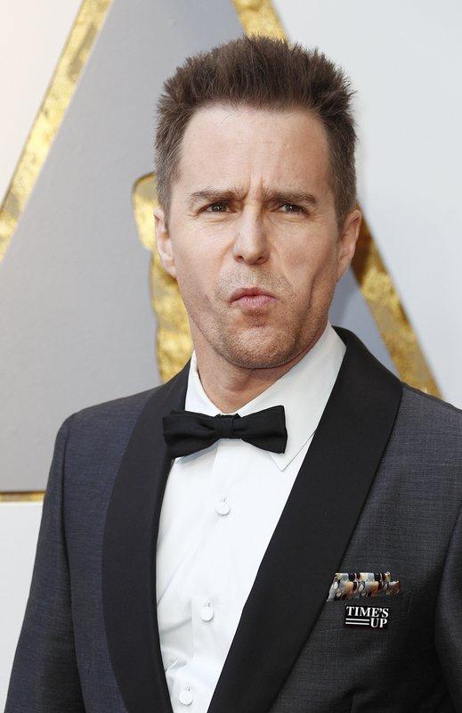 Sam Rockwell, ganador del primer Oscar de la noche (EFE)