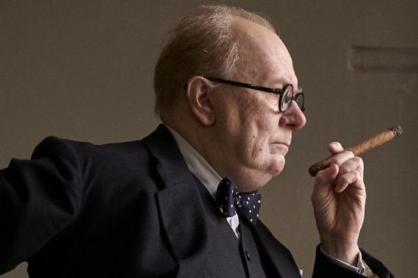 Gary Oldman as Winston Churchill.