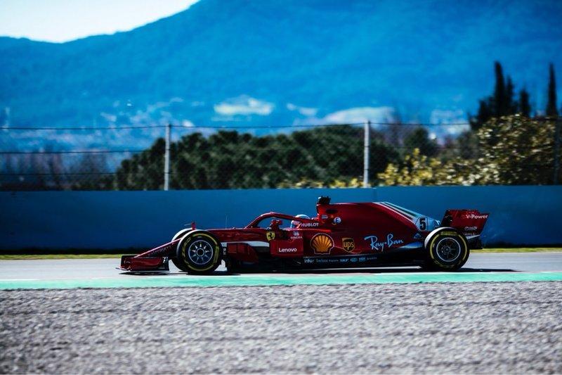 Vettel, en el Circuit