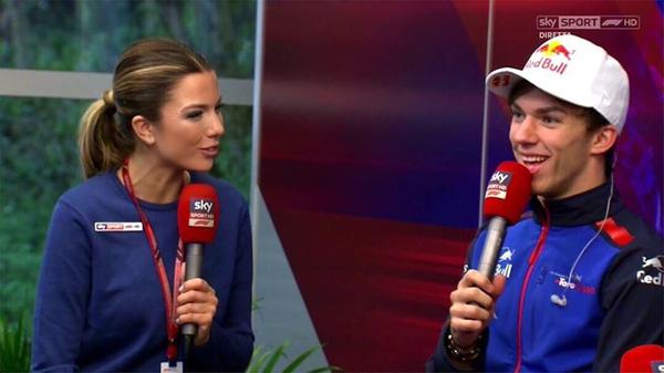 Il nostro show con Pierre Gasly. Super in Bahrain, male oggi in qualifica.. ma la gara é domani! 💪🏼