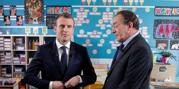 Dans quel cadre se déroulera l'interview d'Emmanuel Macron sur BFMTV ?