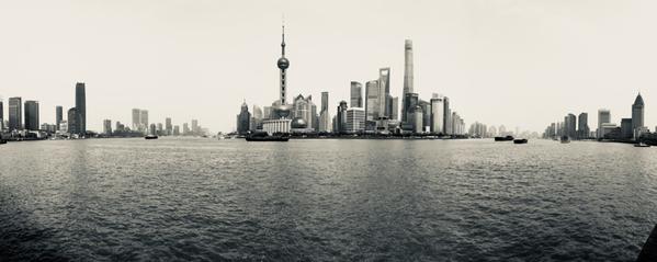Bund. Shanghai. Cina.