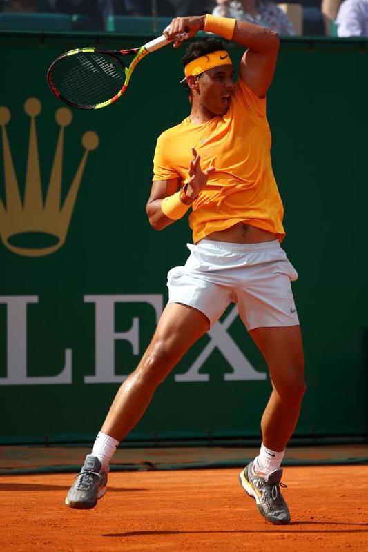Rafa Nadal, muy activo y acertado FOTO: GETTY