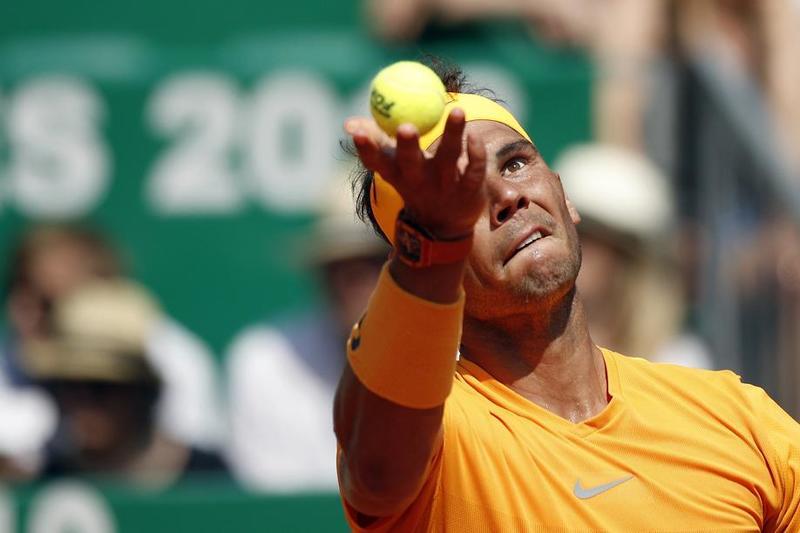 Con tiento pero sin dudas se acerca Rafa Nadal a la final de Montecarlo FOTO: AP