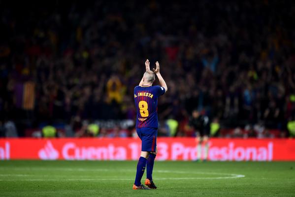 Andrés Iniesta, durante la final de la Copa del Rey