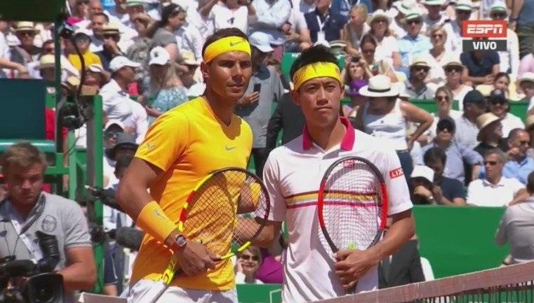 Rafa Nadal y Kei Nishikori, 12º enfrentamiento. 9-2 del español en la serie antes de esta final. 3-0 en tierra