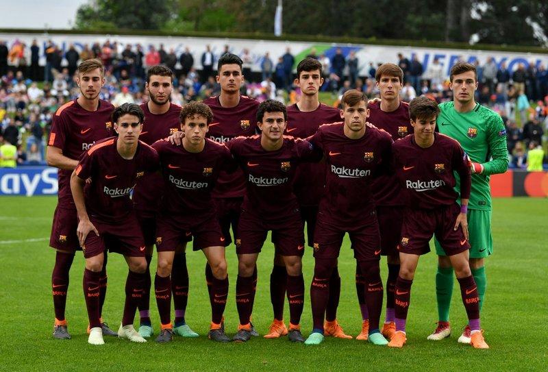 La alineación del Barça