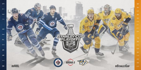 It s a Second Round match up between the  PredsNHL and  NHLJets .   StanleyCup https   pbs.twimg.com media DbbpruxWAAULRxc.jpg 13f8bf27d