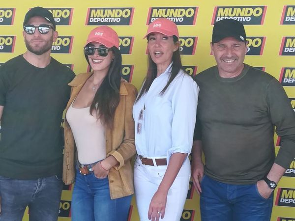 Matías Moure, Lidia Torrent, Elsa Anka y Jesús Mariano Angoy