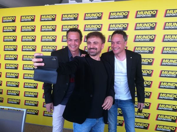 El humorista José Mota con dos cocineros de relumbrón, los hermanos Torres