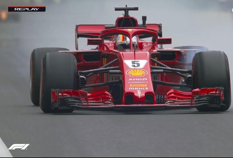 Vettel, en Bakú