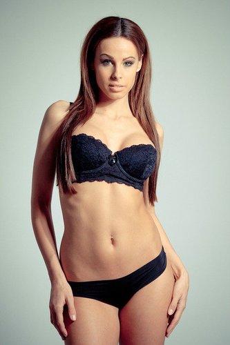 Sexy latina girl stripping