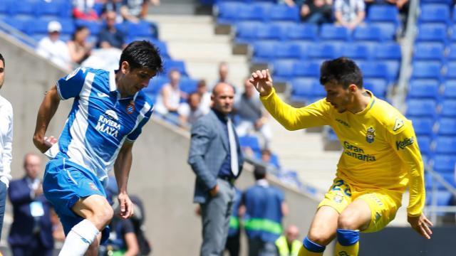 Moreno lleva el peligro en el Espanyol. LFP