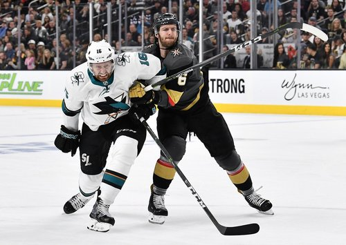 Live playoff updates: Sharks vs  Golden Knights, Game 2